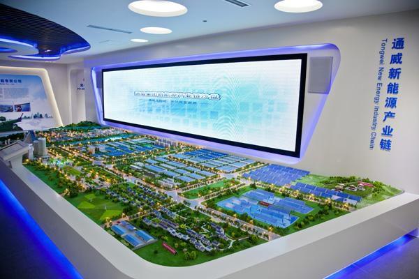 洛阳涧西区展厅模型