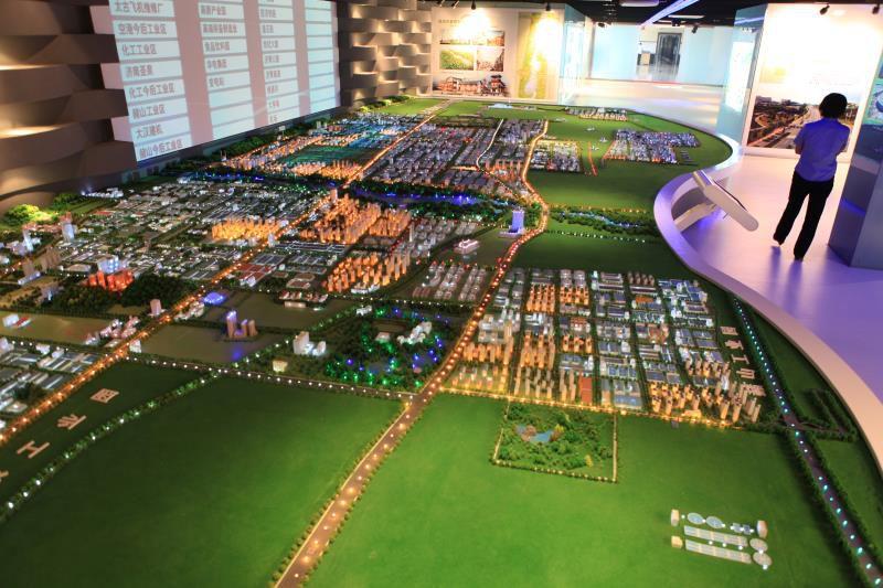 周口淮阳县规划模型