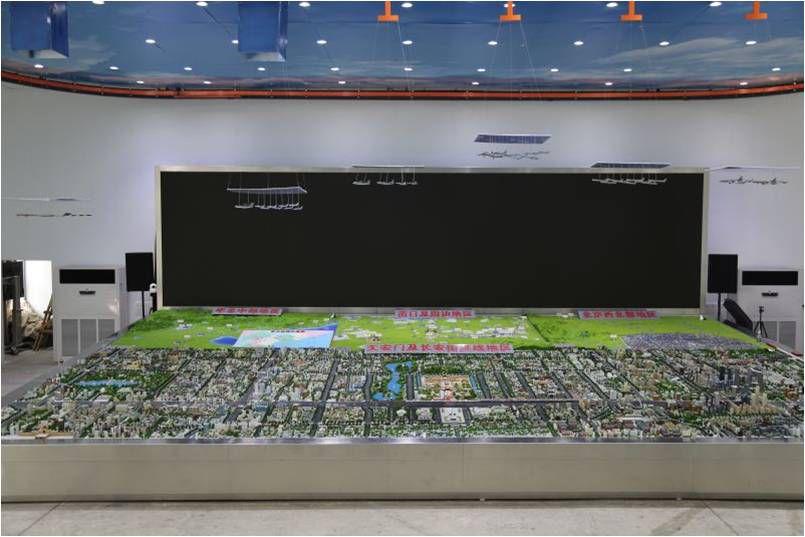 郑州新郑规划模型