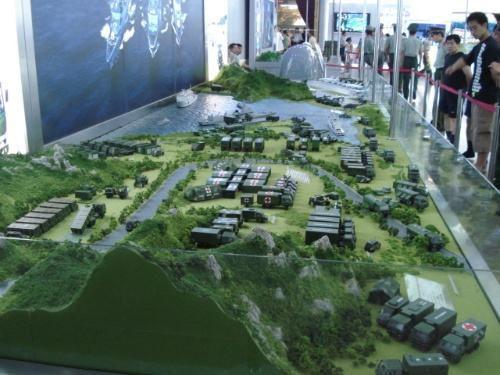 菏泽市军事模型