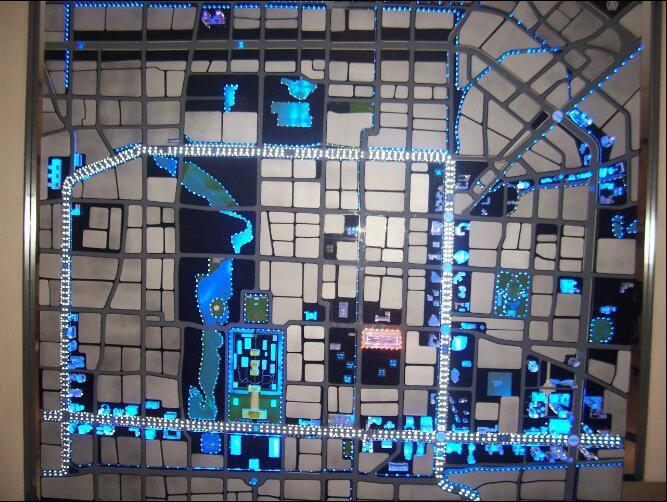 洛阳涧西区区位模型