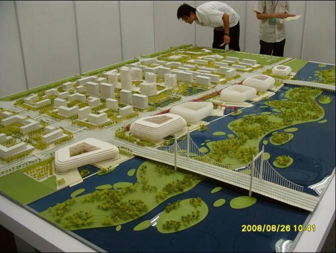 南通港闸区方案模型