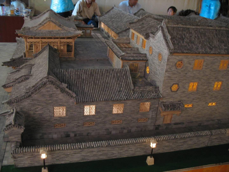 许昌禹州古建模型