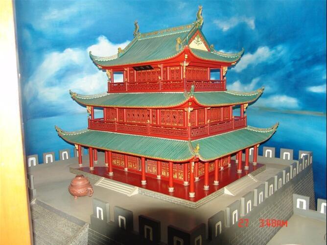 郑州新郑古建模型