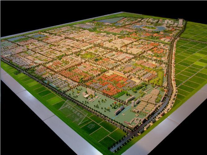 临沂临沭县规划模型